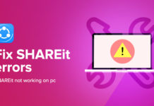 Fix SHAREit Errors (include shareit not working on pc)